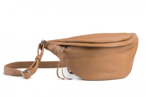 Leather cross-body bag VOOC EP19 camel