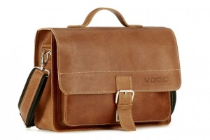Satchel with a strap Crazy Horse TC5 camel