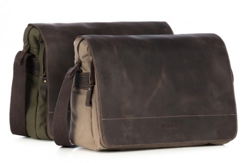 "Torba canvas Messenger na ramię i na laptopa 15,6""  VOOC URBAN EC2"