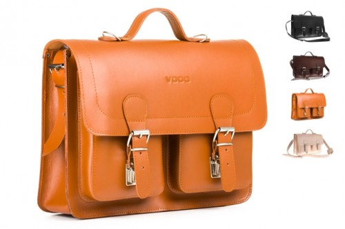Fashionable satchel vintage P124