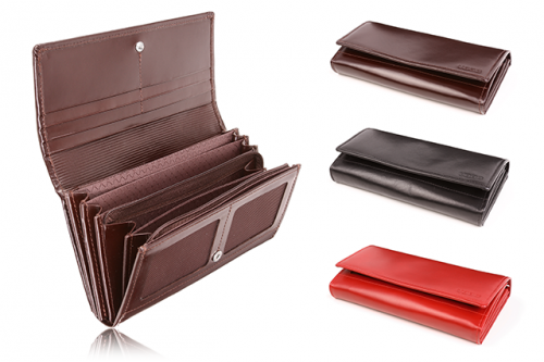 Women's wallet genuine leather PPD5