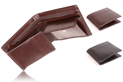Leather men's wallet PPM 3