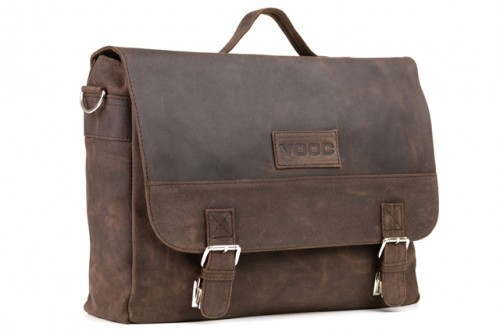 Unisex leather satchel URBAN RDW12