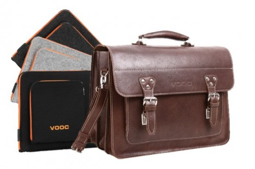 PROMO SET Torba skórzana biznesowa brown TC8+ etui EPD1 na laptop