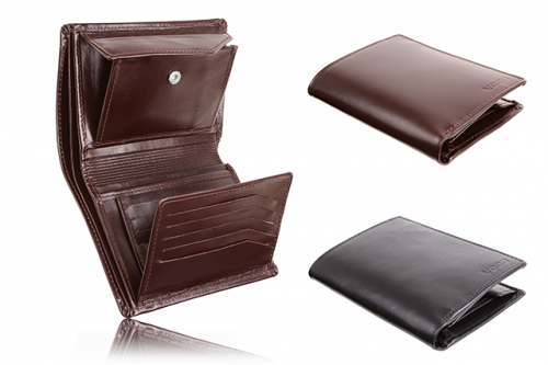Leather wallet for men PPM 2