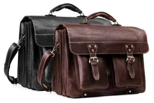 BIG leather business satchel TC12