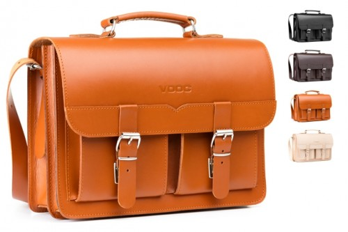 Classic leather satchel  2in1 VINTAGE P112