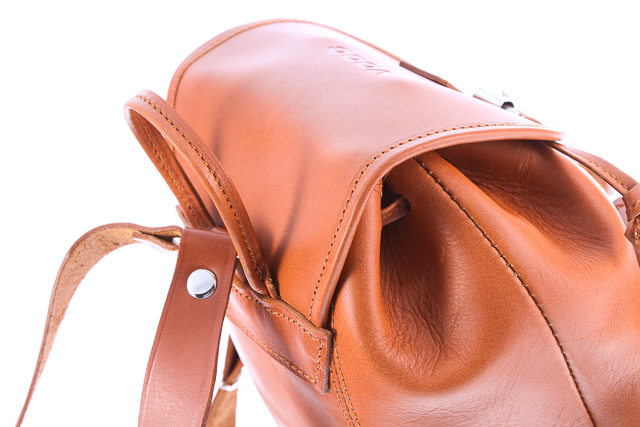 597452d6f4d55 ... Mały plecak skórzany VOOC Vintage P2. Uroczy mały plecak w stylu  VINTAGE wykonany z naturalnej ...