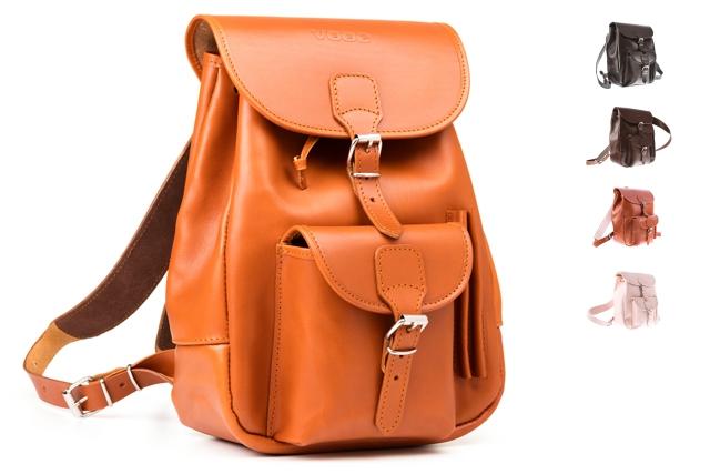 8e3aa75892175 Modny plecak skórzany Vintage P1