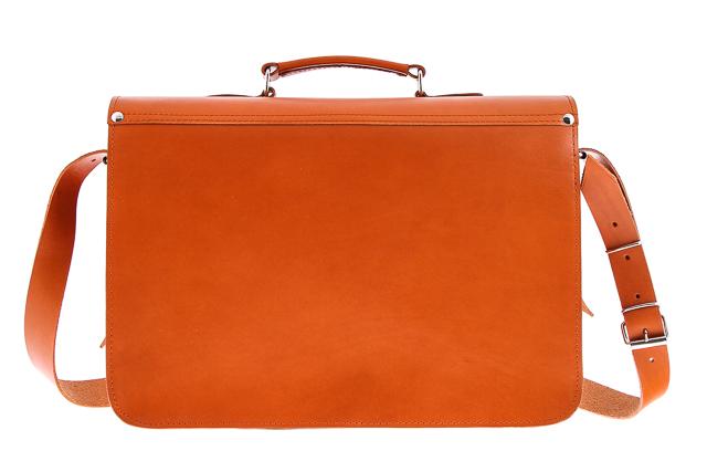 8aeb661d8aeb6 Pojemna skórzana teczka  Torba na laptopa ze skóry naturalnej z funkcją  plecaka VOOC Vintage P36.