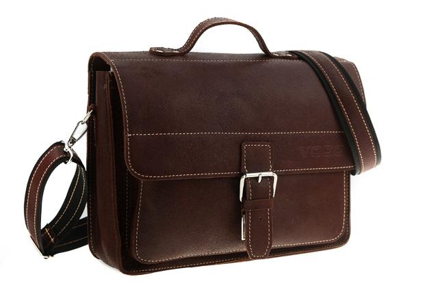 Skórzana torba na ramię teczka TC5